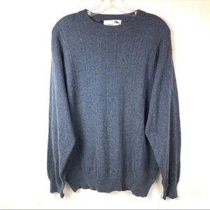 Ilevrieri SzXL Men's Italy Cashmere Sweater